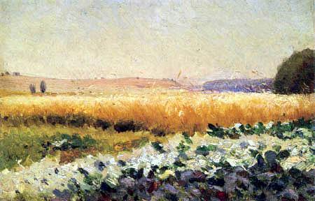 Jan Stanisławski - Cabbage field