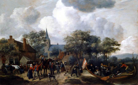 Jan Havicksz. Steen - Bauernfest