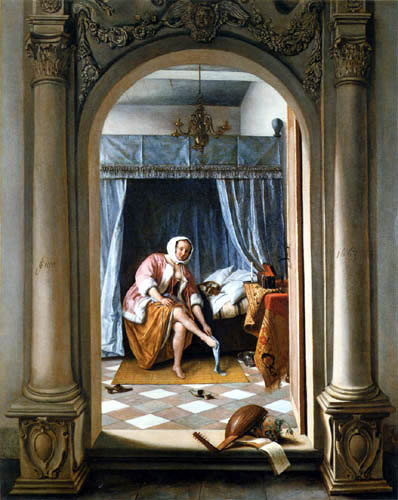 Jan Havicksz. Steen - La toilette de matin