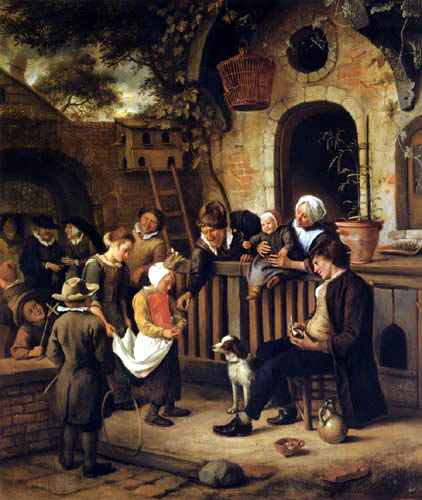 Jan Havicksz. Steen - The little collector