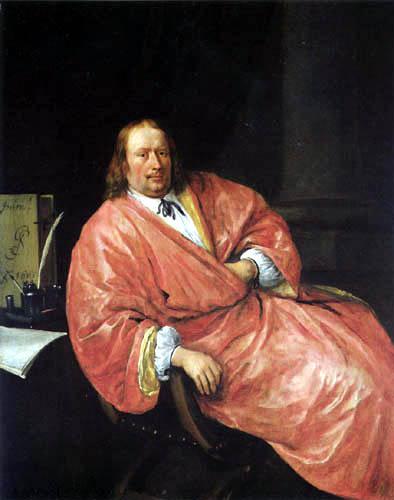 Jan Havicksz. Steen - Porträt Gerrit Gerritsz Schouten