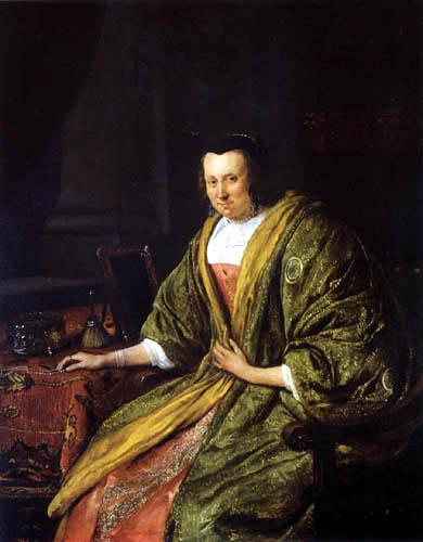 Jan Havicksz. Steen - Porträt der zweiten Frau Gerrit Gerritsz Schouten