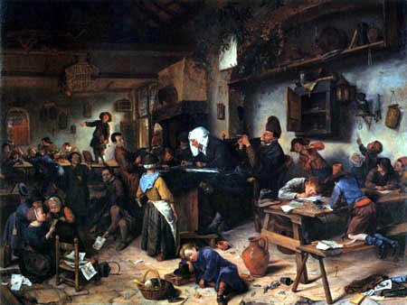 Jan Havicksz. Steen - Village school