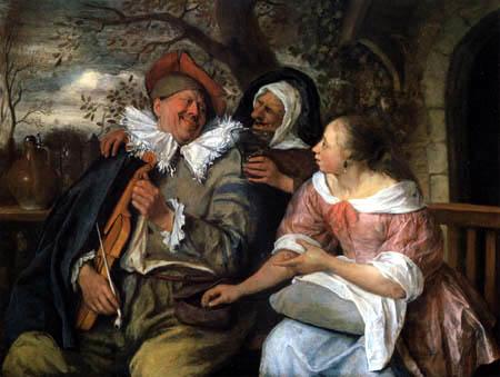 Jan Havicksz. Steen - Der bestohlene Musiker