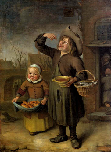 Jan Havicksz. Steen - Der Sirupnascher