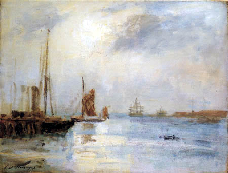 Philip Wilson Steer - Boats at Anchor