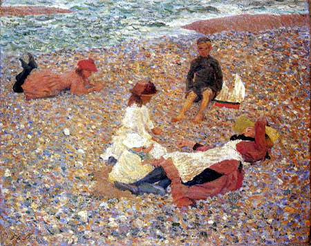Philip Wilson Steer - Knucklebones