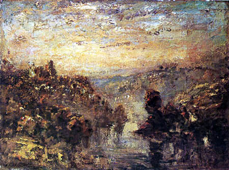 Philip Wilson Steer - Richmond, Yorkshire