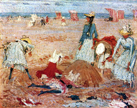 Philip Wilson Steer - Beach at Boulogne