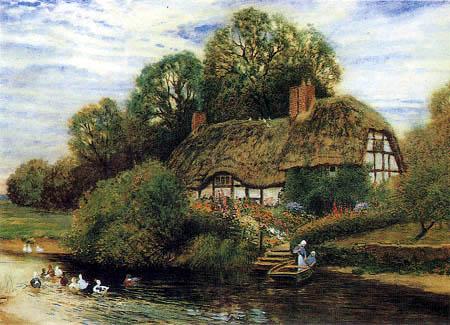 Arthur Claude Strachan - Ferme au fleuve
