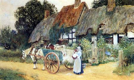 Arthur Claude Strachan - Off to market