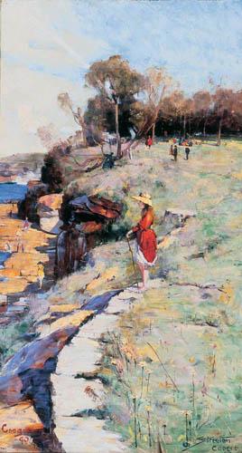 Arthur Ernest Streeton - Sunlight Sweet, Coogee
