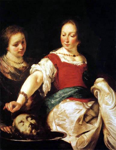 Bernardo Strozzi - Salome with the Head of St John the Baptist