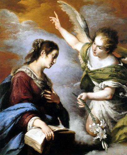 Bernardo Strozzi - Annunciation