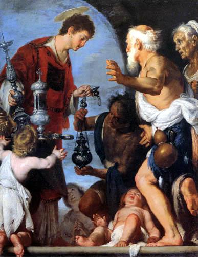 Bernardo Strozzi - Saint Lawrence