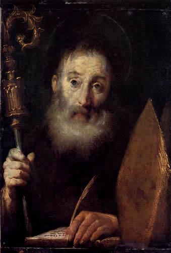 Bernardo Strozzi - Saint Augustine