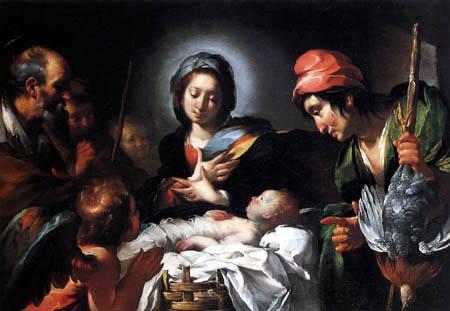 Bernardo Strozzi - Die Anbetung der Hirten