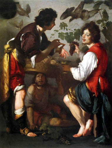 Bernardo Strozzi - Joseph tells his dreams