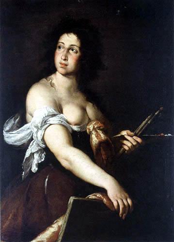 Bernardo Strozzi - An Allegory of Painting