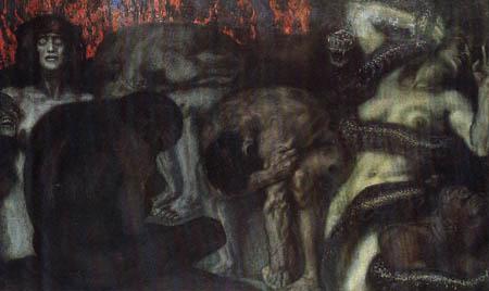 Franz von Stuck - Inferno