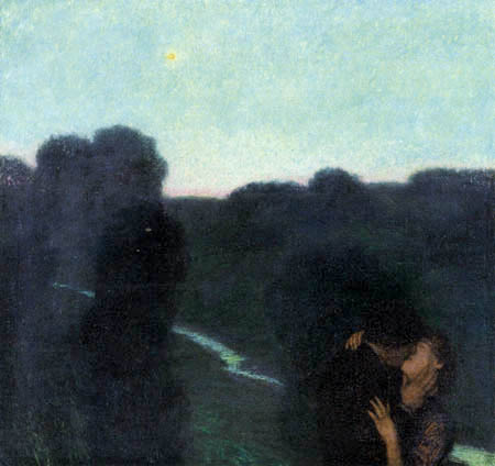 Franz von Stuck - Evening star
