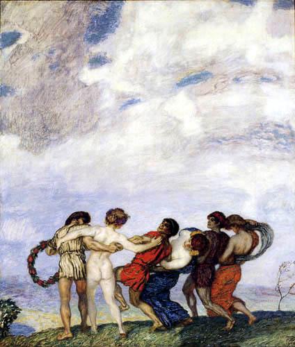 Franz von Stuck - Round dance in spring
