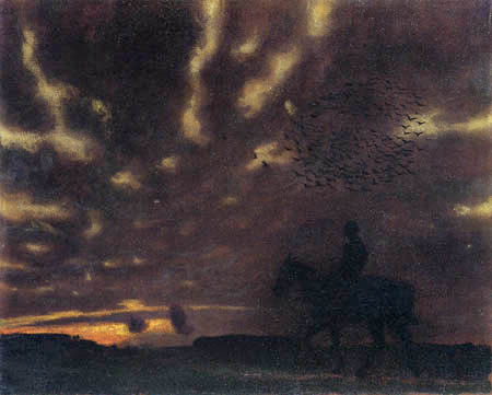 Franz von Stuck - Autumn evening