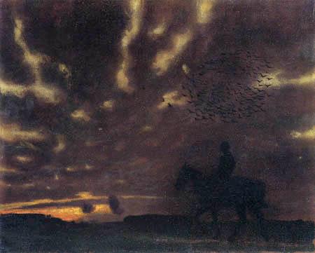 Franz von Stuck - Herbstabend