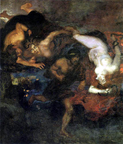 Franz von Stuck - Orest and the Erinnyens