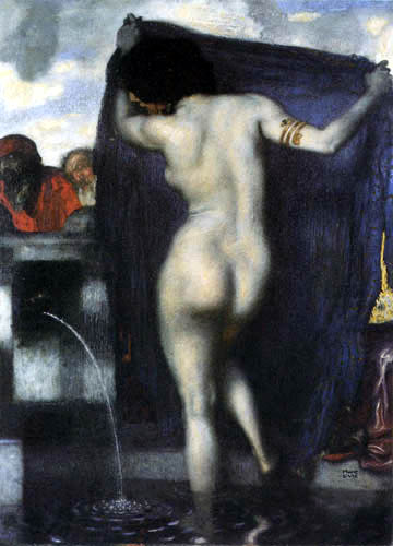 Franz von Stuck - Susanna and the two old men