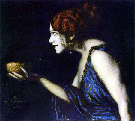 Franz von Stuck - Tilla Durieux als Circe