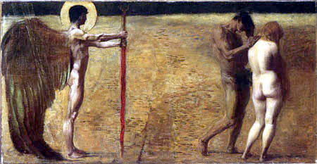 Franz von Stuck - The Expulsion from Paradise
