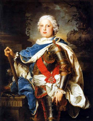 Pierre Subleyras - Kurprinz Friedrich Christian von Sachsen