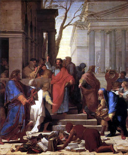 Eustache le Sueur - The sermon