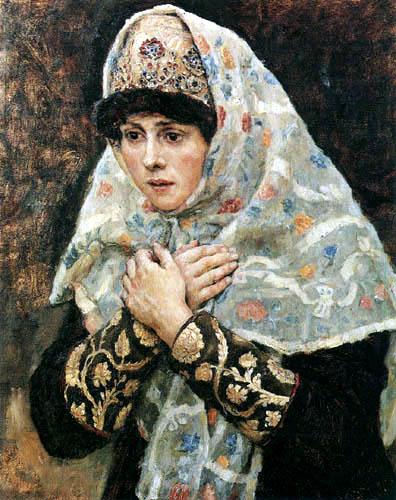Wassilij (Vasily) Iwanowitsch Surikow (Surikov) - Boyar Girl