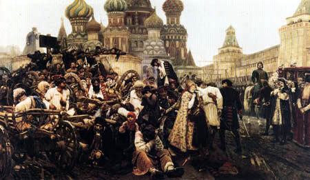 Wassilij (Vasily) Iwanowitsch Surikow (Surikov) - In the morning of the execution
