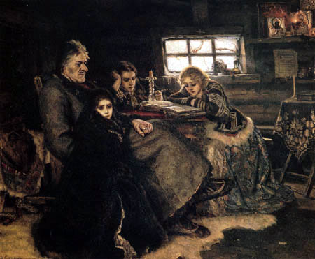 Wassilij (Vasily) Iwanowitsch Surikow (Surikov) - Menshikov in Berjosovo