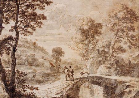 Herman van Swanevelt - River landscape