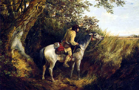 Arthur Fitzwilliam Tait - Trapper Looking Out