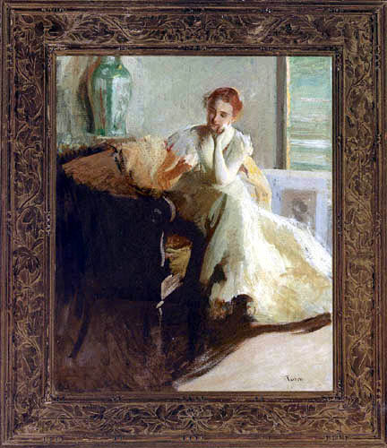 Edmund Charles Tarbell - Contemplation