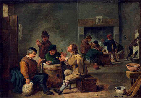 David Teniers the Younger - Wirtsstube
