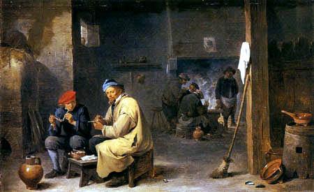 David Teniers the Younger - In der Dorfschenke