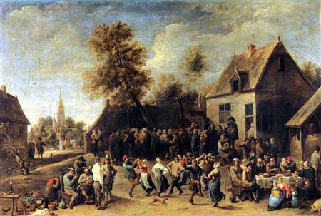 David Teniers le Jeune - Célébration de fermier