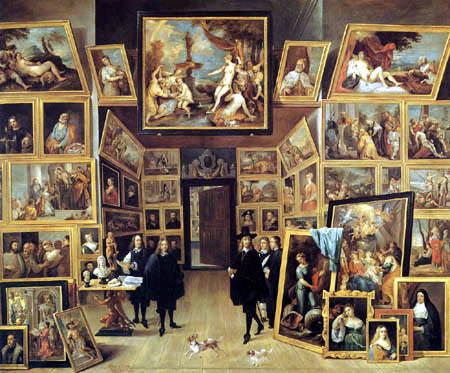 David Teniers le Jeune - La galerie de l'archiduc Leopold Guillermo