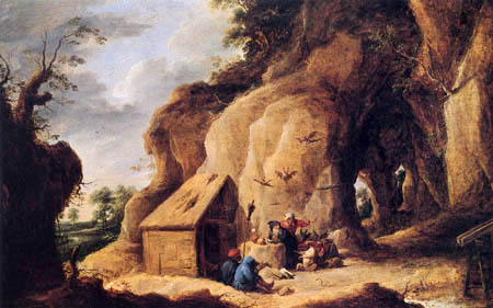 David Teniers le Jeune - Tentation de Saint Anthonius