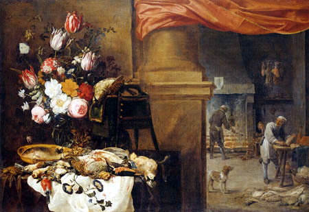 David Teniers the Younger - Before the kitchen