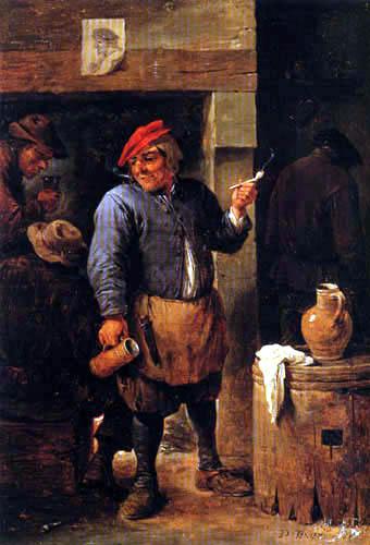 David Teniers le Jeune - Scène d´auberge