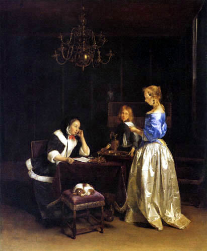 Gerard Terborch (Ter Borch) - The Letter
