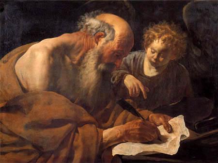Hendrick Terbrugghen (Ter Brugghen) - Saint Matthew