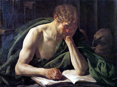 Hendrick Terbrugghen (Ter Brugghen) - Saint John the Baptist